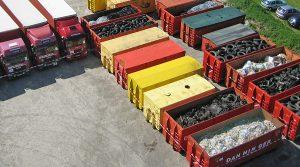 Danninger Spezialtransporte in Fürstenzell - Gefüllte Transport Container