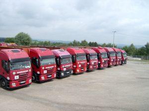 Danninger Spezialtransporte in Fürstenzell - Fuhrpark