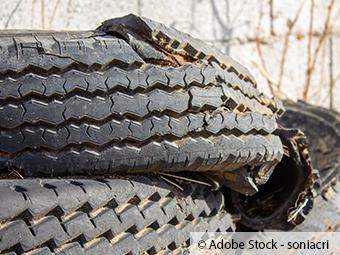 ZARE | Zertifizierte Altreifenentsorger | Alte Reifen in Brand gesetzt