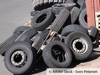 ZARE | Zertifizierte Altreifenentsorger | Illegale Müllentsorgung im Wald