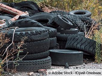 ZARE | Zertifizierte Altreifenentsorger | Illegale Reifenablagerung