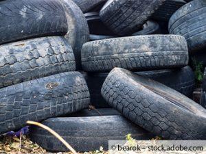 Müllsünde in Rubenheim 140 Altreifen illegal abgeladen