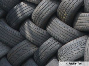 Strafe für Export von Müll-Reifen