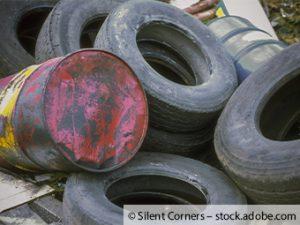 Wanderparkplatz Blee wird zur illegalen Mülldeponie